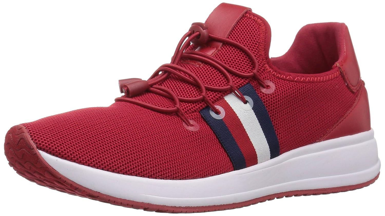 Tommy Hilfiger Women's Rhena Sneaker B07BKMDZPN 7 B(M) US|Red