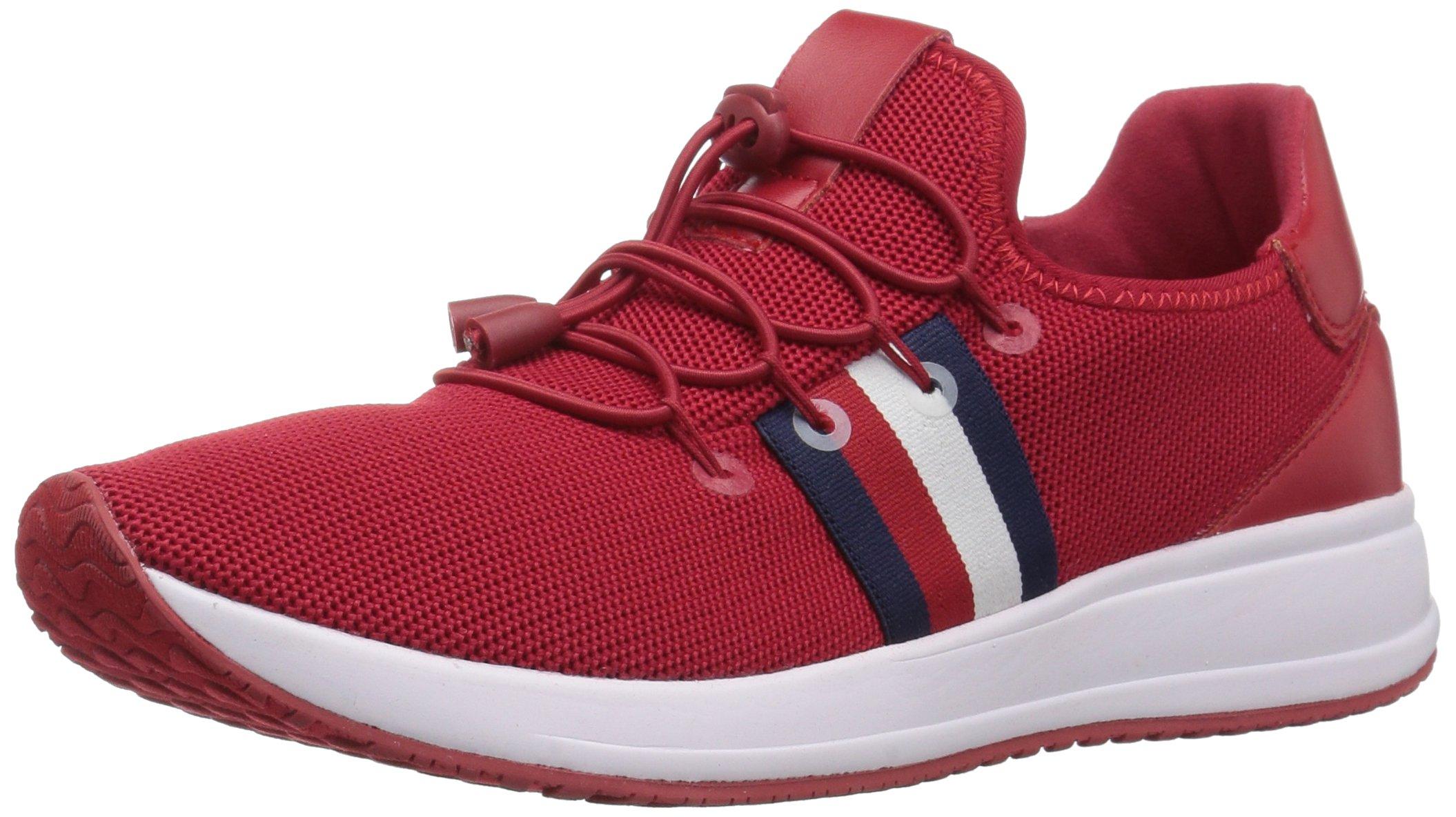 Tommy Hilfiger Women's Rhena Sneaker, Red, 6 M US