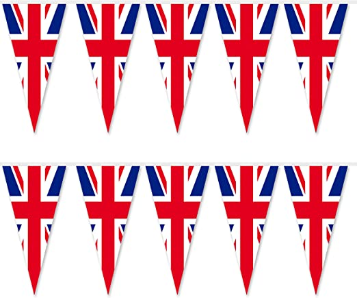 White Red Celebrating any occasion with 5 ft x 3 Union Jack Blue brand new