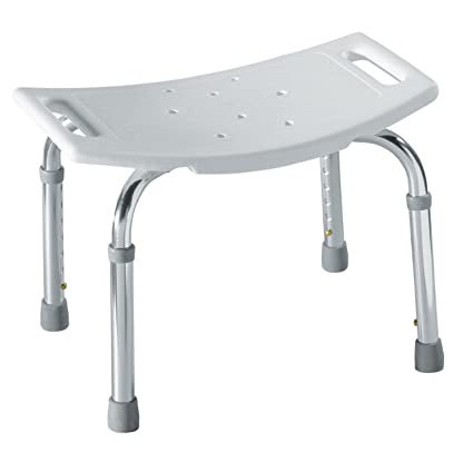 Moen DN7025 Adjustable Tub and Shower Seat, White - Shower And Bath ...