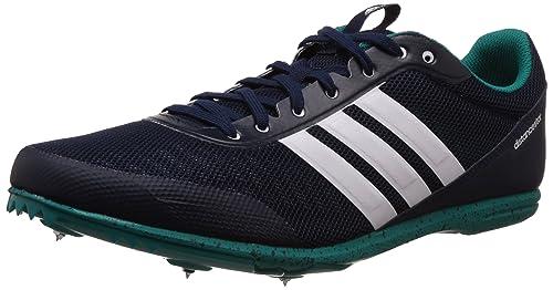 adidas Distancestar, Zapatillas de Running para Hombre, Negro/Blanco/Verde (Maruni/Ftwbla/Eqtver), 49 1/3 EU: Amazon.es: Zapatos y complementos