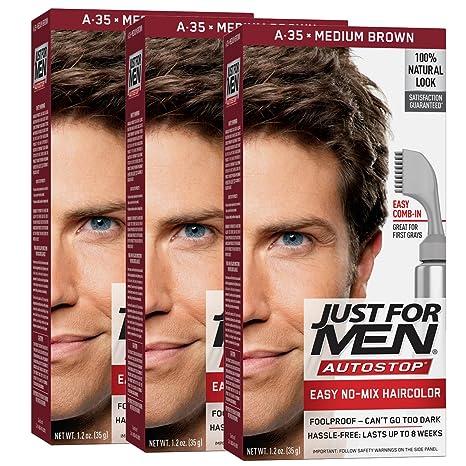 Just For Men Autostop Men S Hair Color Medium Brown Pack Of 3