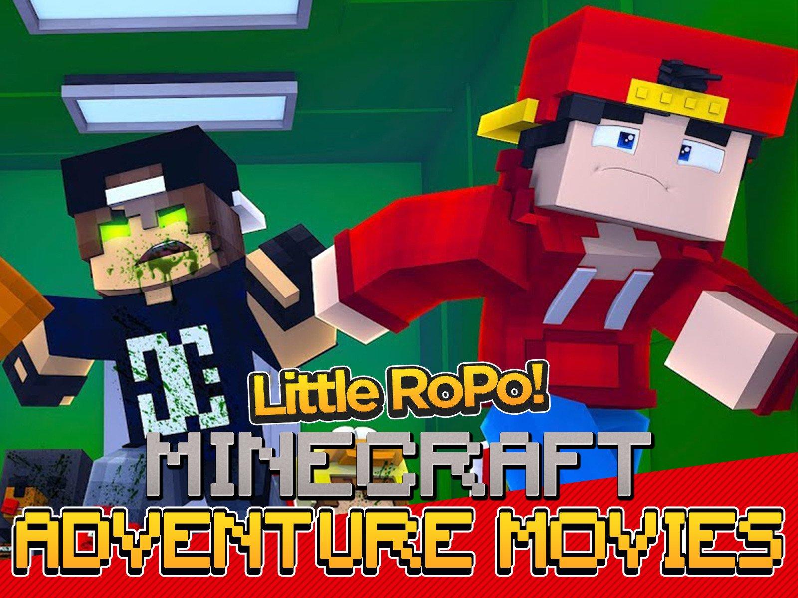 Clip: Little Ropo Minecraft Adventure Movies on Amazon Prime Video UK