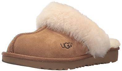 UGG Kids' Cozy II Slipper, Chestnut