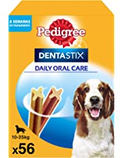 Pedigree Dentastix de uso diario para higiene oral para perros medianos - 56 sticks