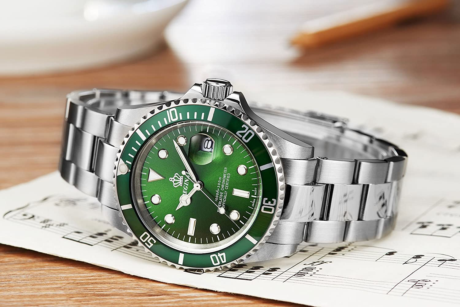 watch men swiss green timeless milgauss elegance and watches rolex face innovations dial