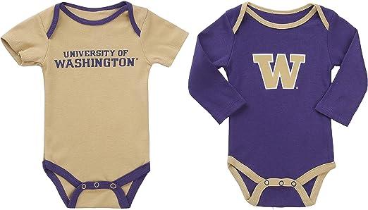 Washington Huskies NCAA Child Cotton Pajama PJ Set Sz 5