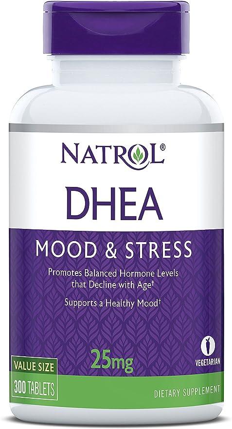 ihocon: Natrol DHEA Tablets, 25mg, 300 Count