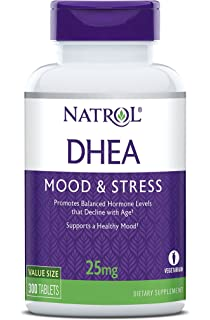 Natrol DHEA Tablets, Promotes Balanced Hormone Levels, Supports a Healthy Mood, Supports Overall