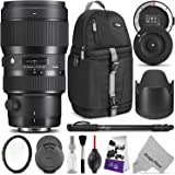 Sigma 50-100mm F1.8 Art DC HSM Lens for CANON DSLR Cameras w/ Sigma USB Dock & Advanced Photo and Travel Bundle