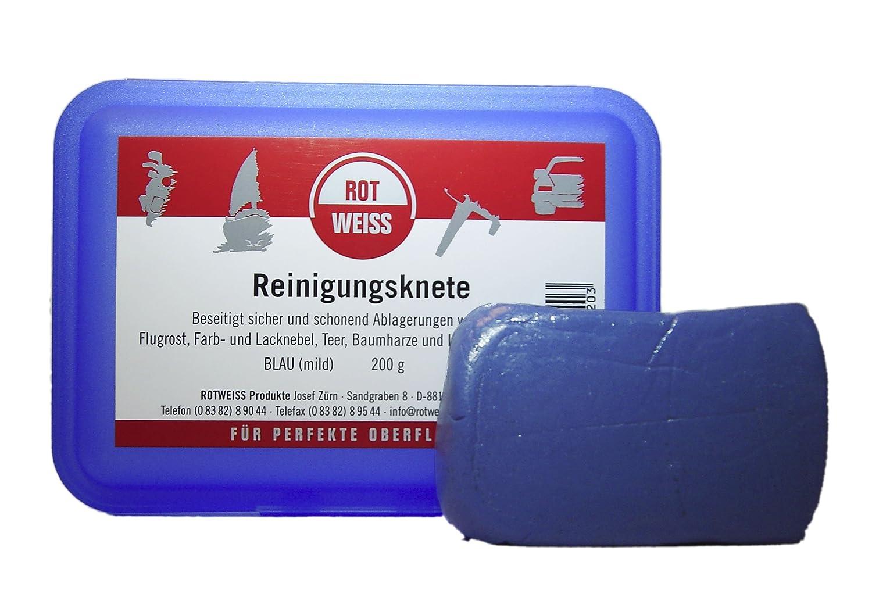 Rotweiss 1520 pâ te de nettoyage avec boî tier de rangement, 200 g 200g Rotweiss Produkte Josef Zürn