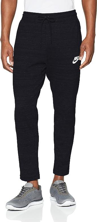 Mar globo Atajos  Amazon.com: Nike Mens AV15 Knit Jogger Sweatpants Black/Heather/White  885923-010 Size 2X-Large: NIKE: Clothing