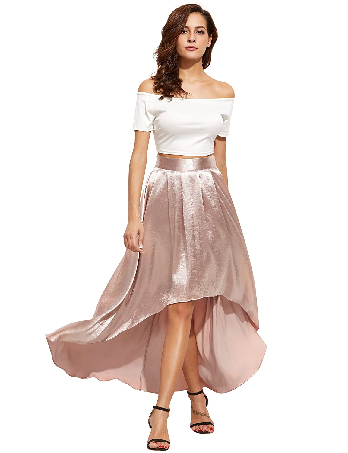 dress - How to high wear low skirt formal video
