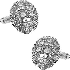 Lion Cufflinks Lions Cuff Links Lifetime Guarantee S2082