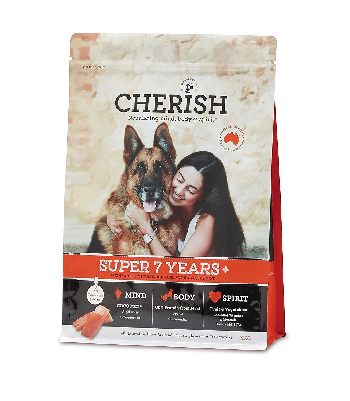 8kg Cherish Super 7+ Mature Adult Dry Dog Food 8kg