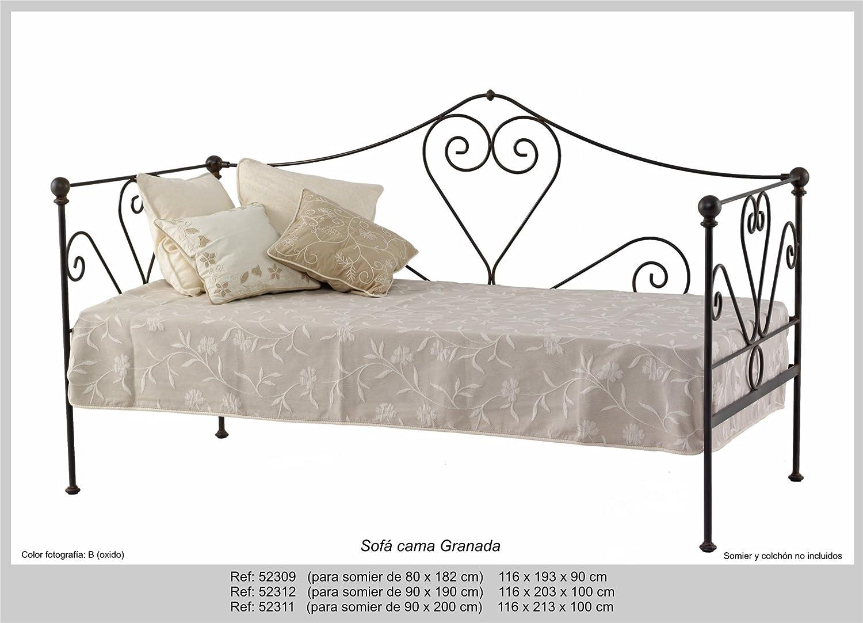 Art-Domus - 52309 - Sofa Cama Granada. Colchón Y Somier No ...