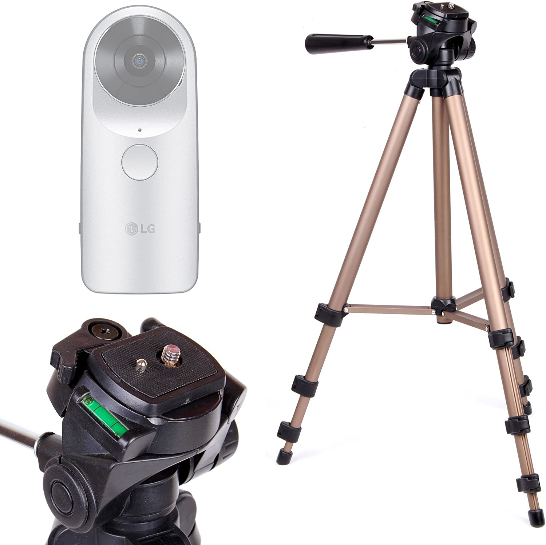 DURAGADGET Trípode Profesional para Cámara LG 360 CAM/Samsung Gear 360: Amazon.es: Electrónica