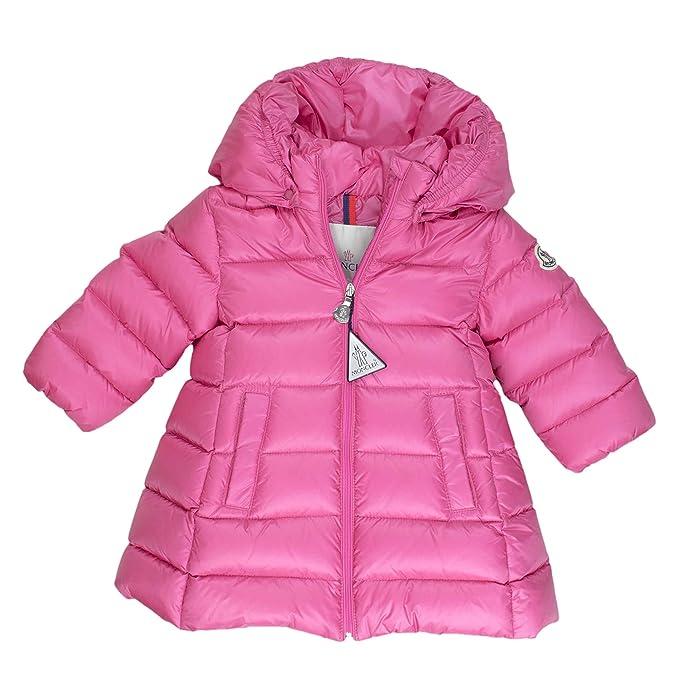 8d3e26ecfd Moncler - Giacca - Piumino - bambina rosa 6-9 Mesi: Amazon.it ...