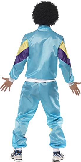 SmiffyS 39298Xl Disfraz De Chándal Al Colmo De La Moda De Los 80 ...