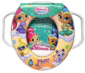 Nickelodeon Shimmer /& Shine Genies Divine Soft Potty Seat