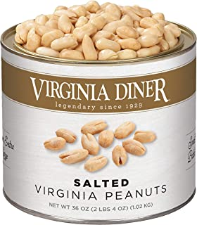 product image for Virginia Diner - Gourmet Natural Extra Large Salted Virginia Peanuts, 36 Ounce