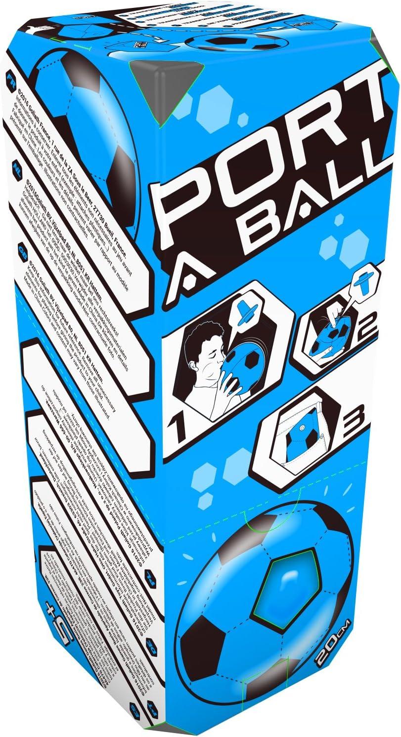 Goliath - Port A Ball, Pelota Hinchable de 4 colores diferentes (31689)