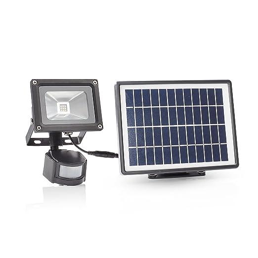 Smartwares SFL-180-MS Lámpara Solar de Seguridad con Doble Sensor ...