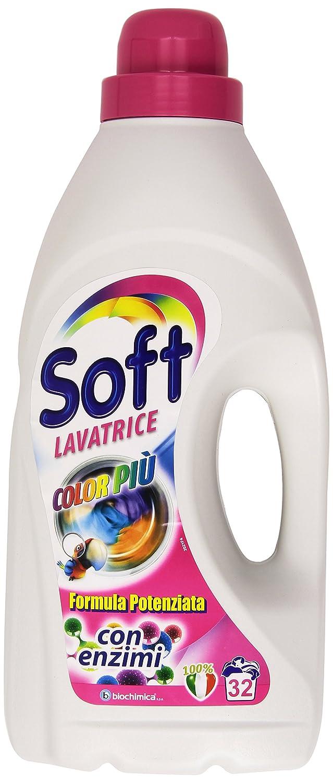 Soft-Color más, fórmula reforzada con enzimas, para lavadora ...