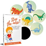 Potty Training Seat Magic Sticker   Potty Training Toilet Color Changing Sticker   5 Pack Dinosaur Stickers   Use with…