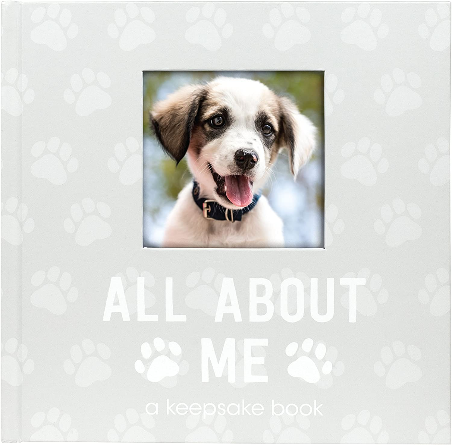 Pearhead Pet Milestone Keepsake, Paw Print Design, Dog Owner Gifts, Cherish Every Memory Of Your Pup, Perfect for Dog People or New Puppy Pet Owners