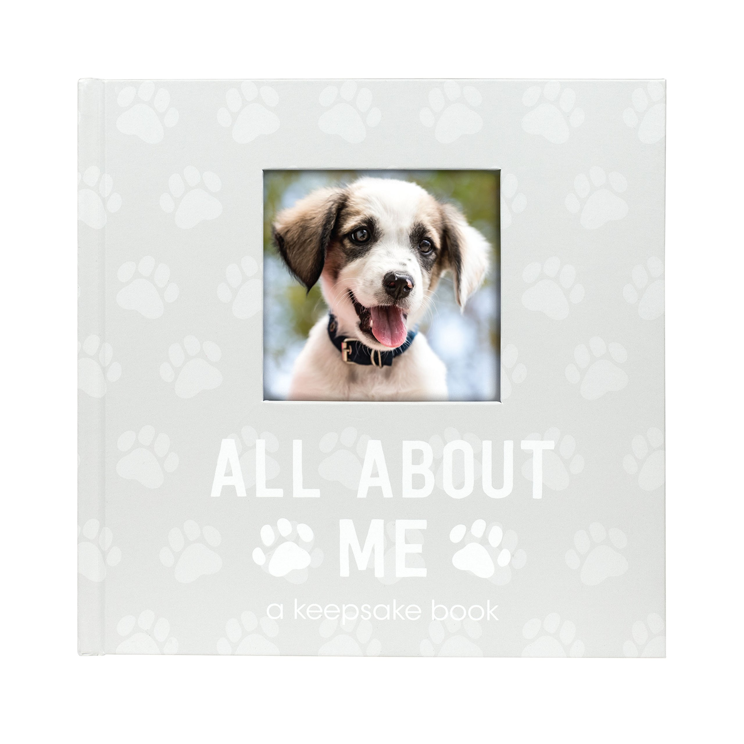 Pearhead Pet Milestone Keepsake, Paw Print Design, Dog Owner Gifts, Cherish Every Memory of Your Pup, Perfect for Dog People or New Puppy Pet Owners by Pearhead