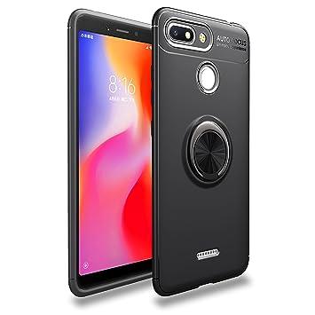 LUCKY Funda XiaoMi Redmi 6A Case, 360 Grados Caso Carcasa Case ...