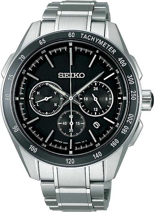 [セイコーウォッチ] 腕時計 ブライツ ソーラー電波修正 サファイアガラス スーパークリア コーティング SAGA171 シルバー