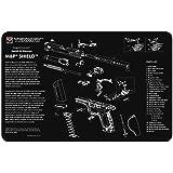 TekMat Smith & Wesson M&P Shield Mat, Black