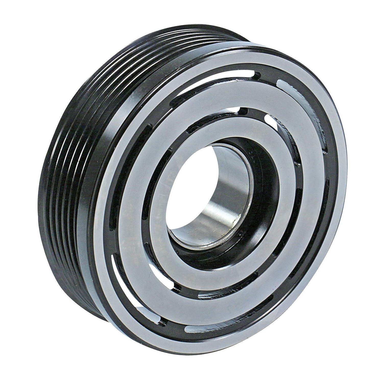 1x Polea para compresor de aire acondicionado. Incluye platina y acople magnético OPEL ZAFIRA 2.0 DI 16V, 2.0 DTI 16V, 2.2 DTI 16V 2002-05: Amazon.es: Coche ...