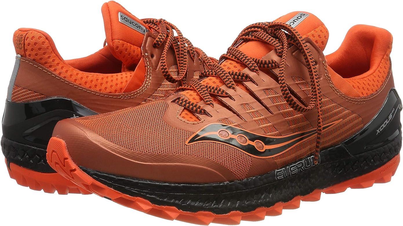 Saucony Xodus ISO 3, Zapatillas de Running para Hombre, Naranja (Orange/Black 36), 40 EU: Amazon.es: Zapatos y complementos