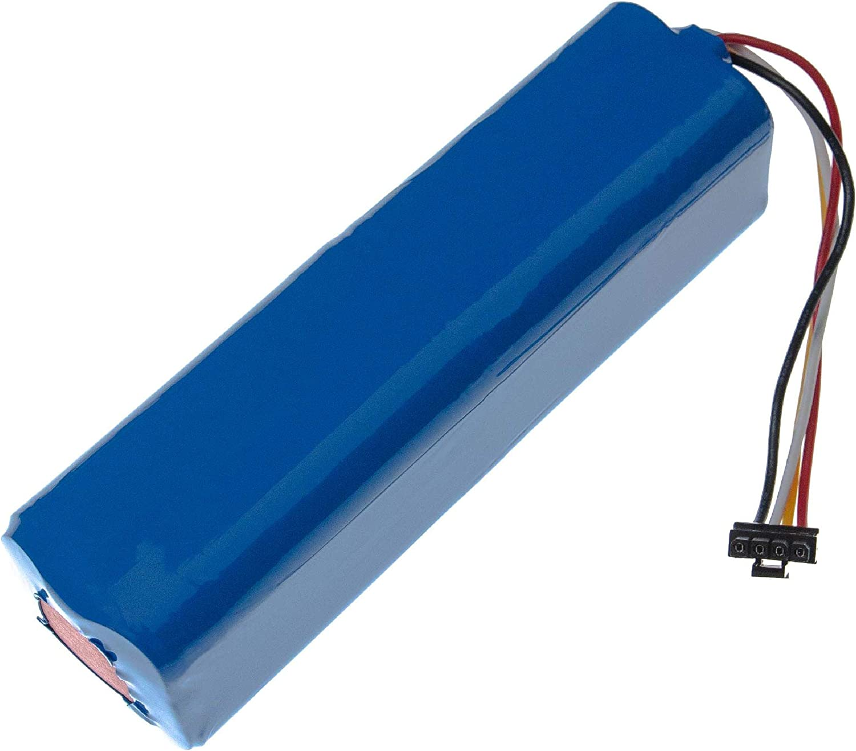 vhbw bater/ía reemplaza Xiaomi BRR-2P4S-5200S para robot de limpieza 5200mAh, 14.4V, Li-Ion