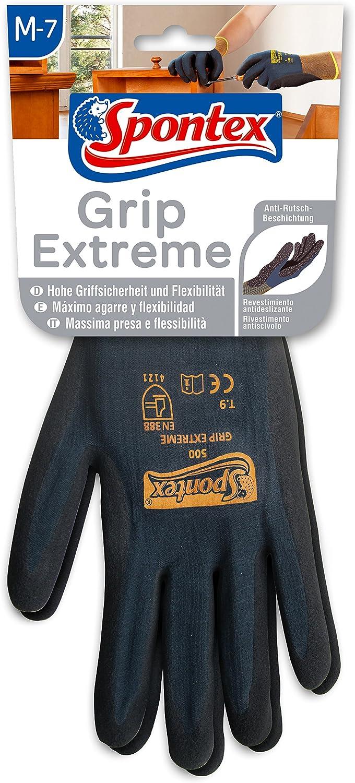 Spontex Cut Protection Arbeitshandschuhe mit hohem Schnittschutz aus nahtlosem PEHD-Gewebe 1 Paar nach EN 388 Gr/ö/ße M