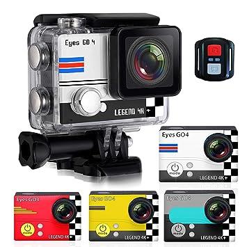 (Cámara Deportiva 4K) EYES GO 4+® + Kit 32 accesorios 20 MP