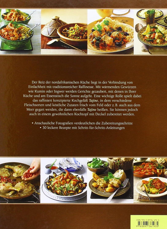 inklusive Rezepte Buch Nord Afrikanische K/üche Kochbuch ORIGINAL Tontopf handget/öpfert aus Marokko f/ür 1-3 Personen Schmortopf glasiert Ferhan /Ø 26cm Marokkanische Tajine Topf zum Kochen