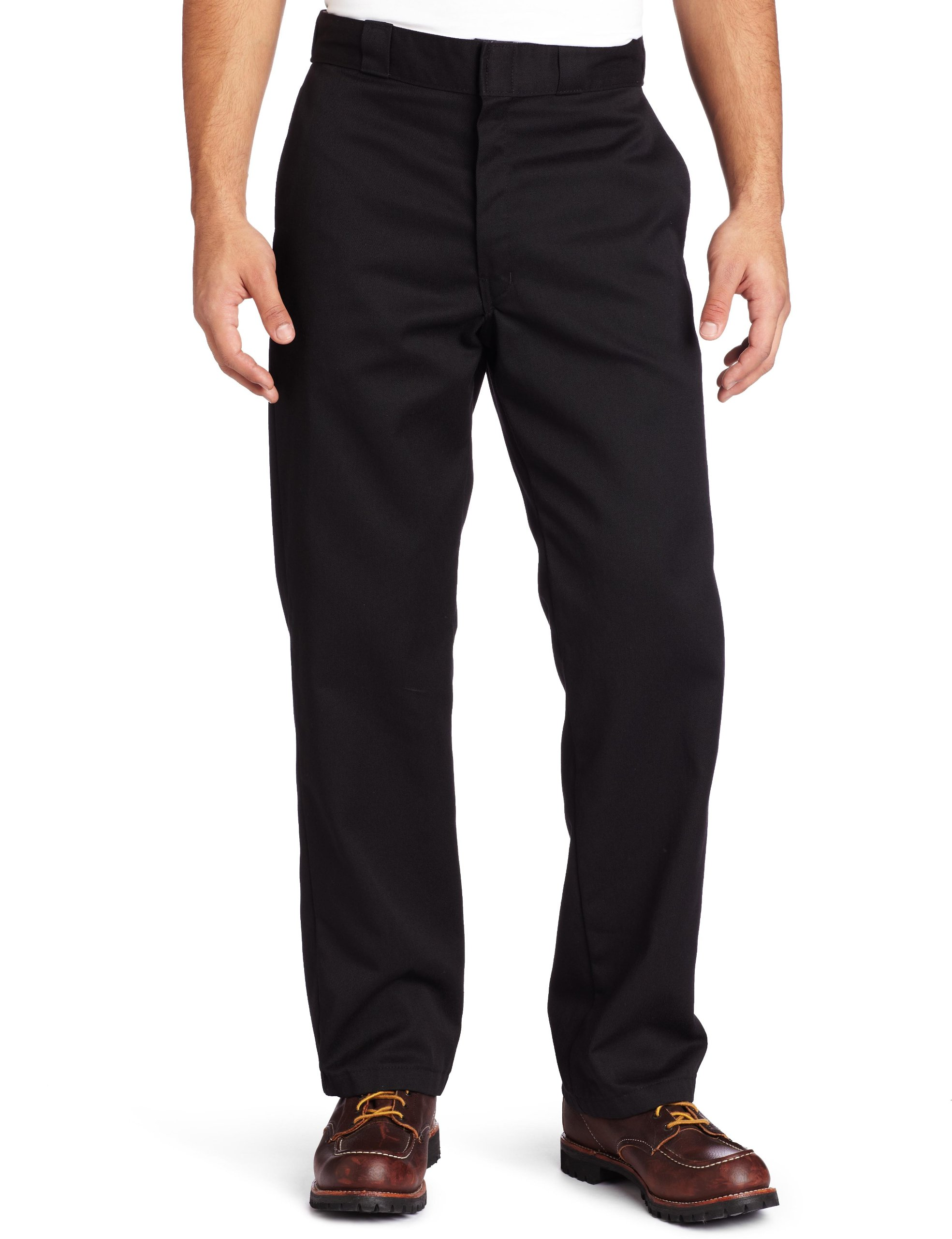 Dickies Mens Original 874 Work Pant, Black, 44W x 32L