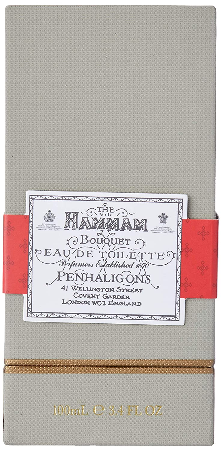 Penhaligon s Hammam Bouquet Men s Eau de Toilette Spray, 3.4 Ounce
