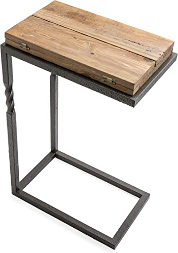 Plow Hearth Deep Creek Pull-Up Accent Table