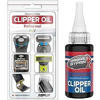 SYPRIN aceite de cabeza de afeitado - lubricante universal para máquinas de cortar pelo cortapelos I aceite maquina…