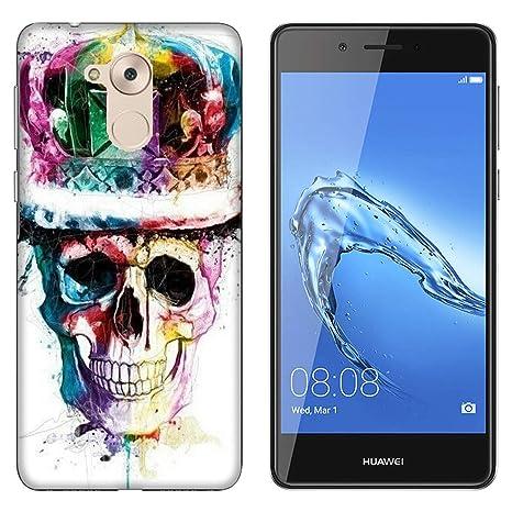 Funda P9 Lite Smart Carcasa Huawei P9 Lite Smart esqueletos ...