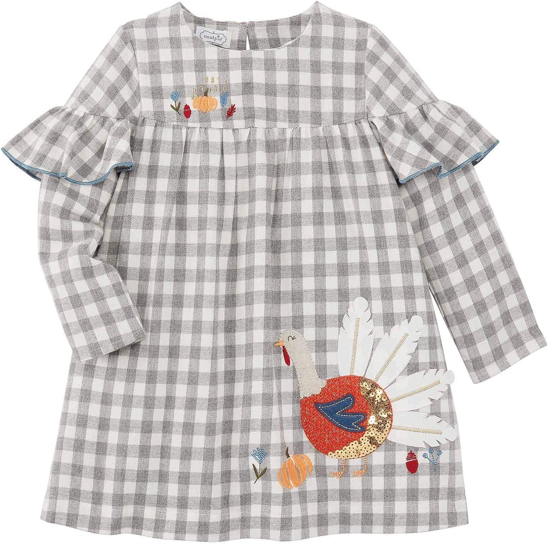 Mud Pie Baby Girls' Turkey Dress: Clothing