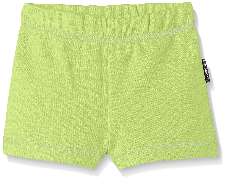 Maxomorra Unisex Baby BASI-M101 Shorts Shorts Green BASI-M101-D3007