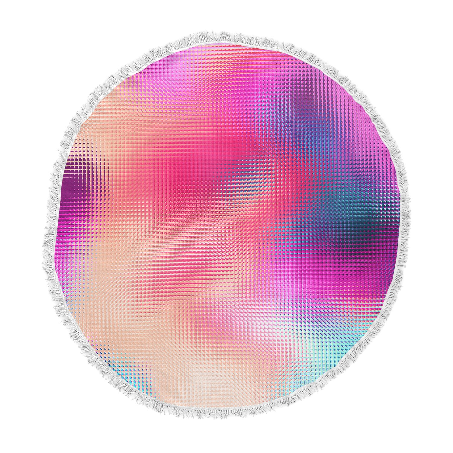 Kess InHouse Danny Ivan Bastard Abstract Round Beach Towel Blanket