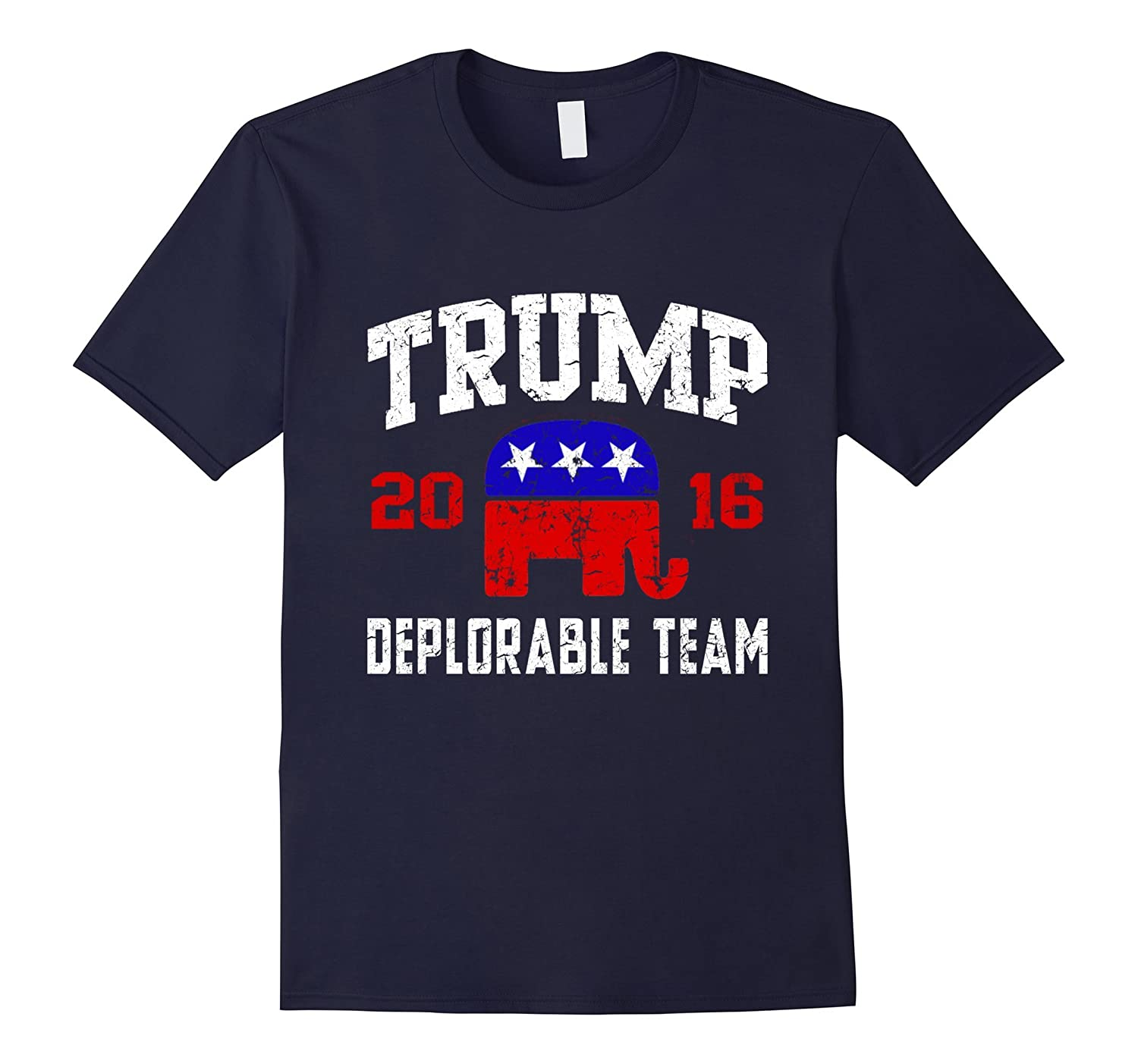 Deplorable team for Trump t shirt-TD