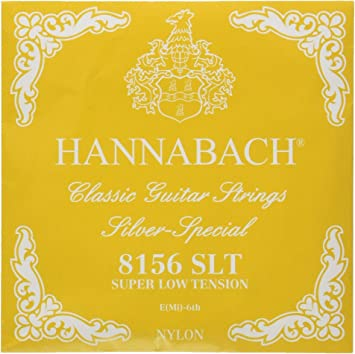 Hannabach Cuerdas para guitarra clásica Serie 815 High Tension ...